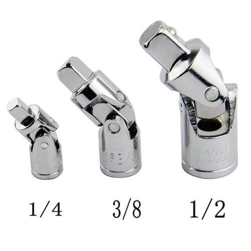 1//4 Inch 3//8 Inch 1//2 Inch Drive Universal Joint Socket Set Universal Socket CO