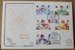 1985 Cotswold GB First Day Cover with Special Postmark   Christmas Pantomime - Cambridge, United Kingdom - 1985 Cotswold GB First Day Cover with Special Postmark   Christmas Pantomime - Cambridge, United Kingdom