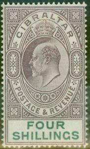 Gibraltar-1903-4s-Dull-Violet-amp-Vert-SG53-Fin-MTD-Excellent-Etat-2