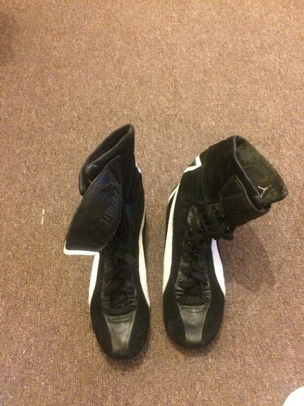 Worn - Puma Boxing Trainers in good condition Cheap and beautiful fashion