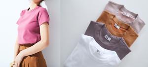 2e89819a Uniqlo Women U Lemaire 2019 Crew Neck Short Sleeve T-Shirt ...