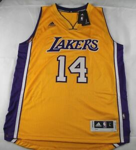 4c18e68ecf3 Brandon Ingram  14 Los Angeles Lakers Adidas Swingman Men s Jersey ...