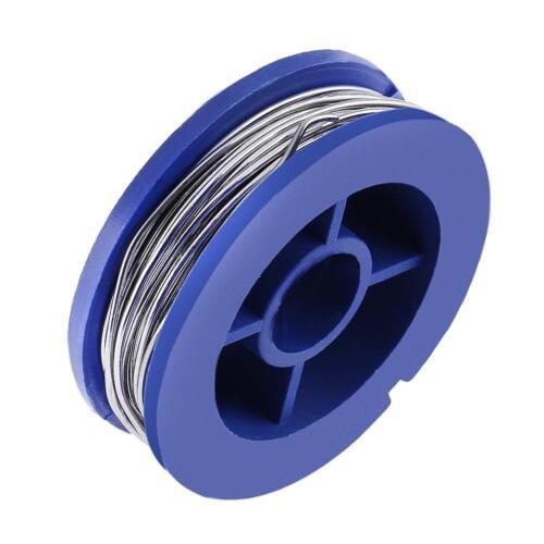 1pc 0.8mm Mini Pure Solder Wire No-Clean Flux Tin Lead Soldering Wire Roll S1#