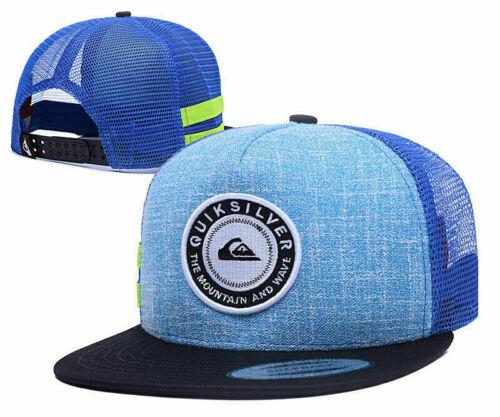 New Australia Surf Skateboard Mesh Hat Hip Hop Hat Quiksilver Cap Summer Beach