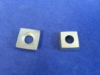 Ci1 Carbide Insert Cutter Wood Fits Easy Wood Tools 15mmx15mmx2.5mm- 4 R
