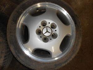 Alulfelgen-Felgen-1-Satz-Mercedes-Benz-A-Klasse-W168-7Jx16H2ET37