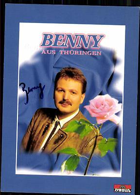 GroßZüGig Benny Aus Thüringen Autogrammkarte Original Signiert ## Bc 2772 Musik Sammeln & Seltenes