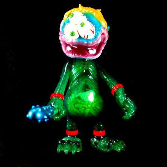 Cura Juguetes X base secreta-desmayar Boogie Man Juguete Art Gallery 8  Sellado-MVH Kaiju