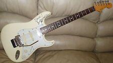Yngwie Malmsteen Autographed Mega Rare Fender Stratocaster Japan 89  / 90 Kahler
