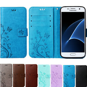 Etui-Portefeuille-Butterfly-Flip-Cover-Wallet-All-Galaxy-S5-S6-S7-S8-A-J-G