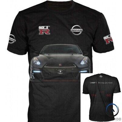Nissan Skyline T shirt  GTR R34 V Spec Nismo JDM Flag Japan Sportscar tshirt