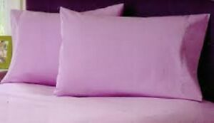 Purple Solid RV Camper /& Bunk Sheet Set All Sizes 1000 TC Egyptian Cotton
