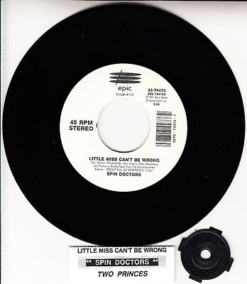 Spin Doctors Little Miss Can T Be Wrong Two Princes 7 45 Rpm Brand New Rare Ebay Стало намного легче, когда эта сука уехала из города. ebay