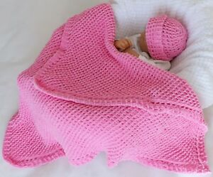 Baby Knitting Pattern 77 To Knit Baby Blanket Hat Quick Easy
