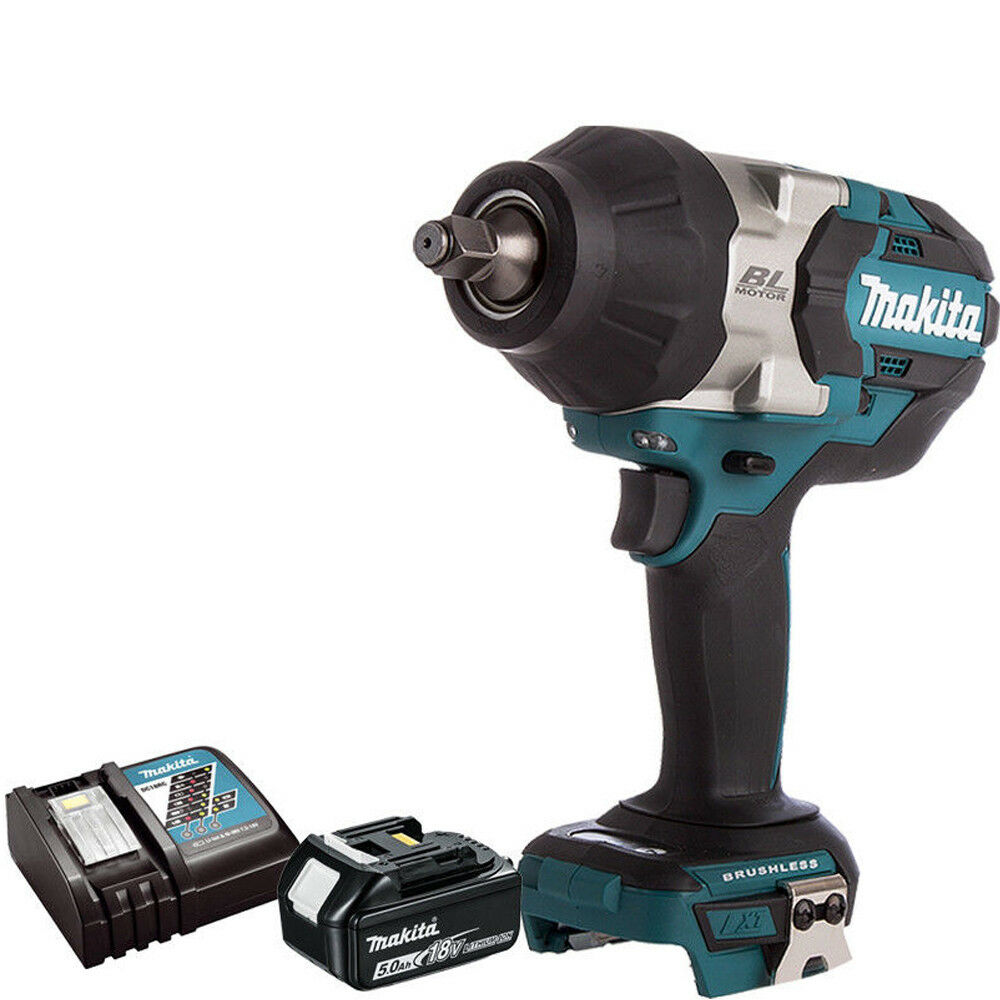 Makita DTW285Z 18V LXT 1//2in Impact Wrench with 2 x BL1850 /& DC18RC /& Mak Case 3