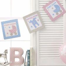 Baby Shower Garland -3.5 m-Unisex Baby Shower Decoration - Tiny Feet Range