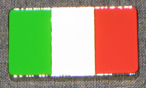 GREEN WHITE RED POKER CARD GUARD COVER ITALY ITALIAN FLAG LUCKY CHARM