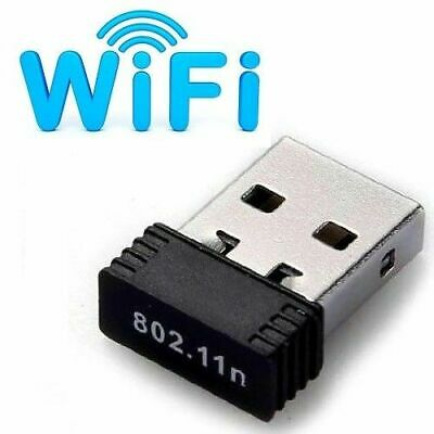 Wireless USB WiFi Adapter Mini Network Dongle 150Mbps Windows MAC Linux 802.11n