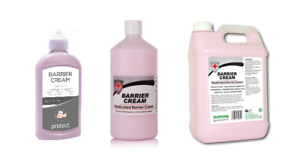 Clover Barrier Cream 300ml 750ml 5Ltr Medicated Hand Protection Moisturiser 409