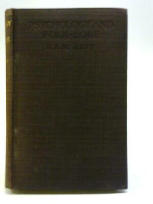 Ernst Psychology And Folk-lore (r R Marett - 1920) (id:37238) Kann Wiederholt Umgeformt Werden.