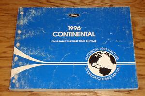 1996 Lincoln Continental Wiring Diagram EVTM Manual 96   eBay