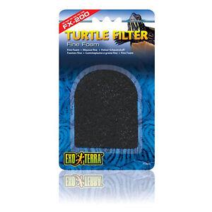 Exo Terra FX-200 Turtle Filtre de remplacement filtre fin Mousse Patins X 3-afficher le titre d`origine 2Z2SouaI-07220042-730434800