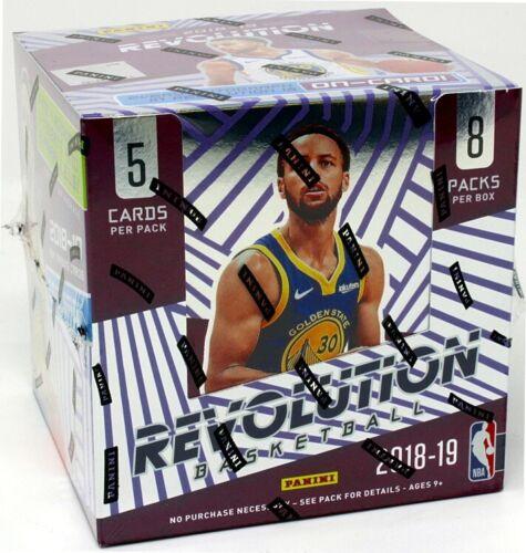 2018//19 PANINI REVOLUTION Basketball Hobby Box Blowout cartes