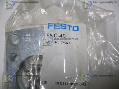 FESTO FNC-40 PNEUMATIC CYLINDER MOUNT PLATE TO SUIT DNC 40 MM