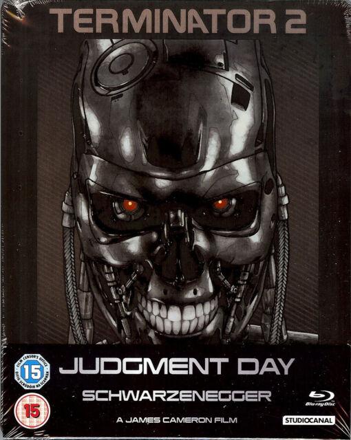 TERMINATOR 2: Judgment Day Limited Edition SteelBook (Region B UK Import) - OOP!