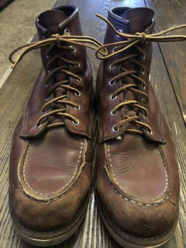 red wing boots size11D