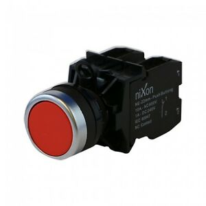 Red-Push-Button-22mm