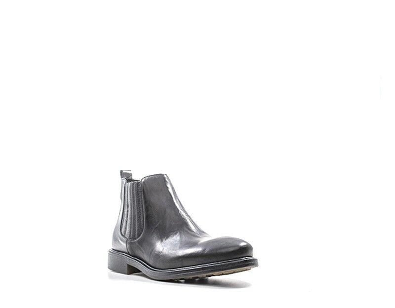 Chaussures mezzetinte Femme Femme Femme noir Nature Cuir 36722 lamter-cn 4bf8fc