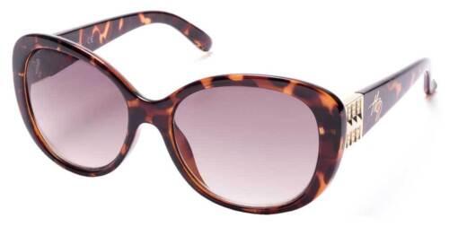 Dark Havana//Brown Lenses Harley-Davidson Women/'s Oversized Butterfly Sunglasses