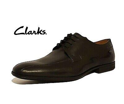 Calzado de hombre CLARKS DERRY sobre GTX Negro Cuero Derby