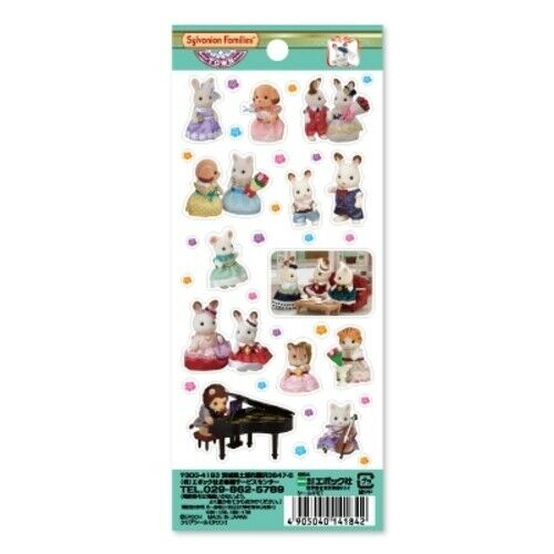 Sylvanian Families Stationary STICKERS TOWN SERIES Critters Epoch Epoch