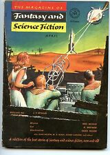 Fantasy and Science Fiction Vol 4 No 4 1953 Approx grading : Fine