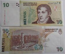 """BILLETE """"   ARGENTINA  """"   10  PESOS  AÑO  2012   UNC    PLANCHA"""