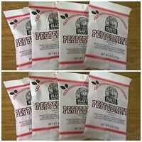 Claeys Peppermint Old Fashioned Hard Candy 8 Pack 6oz Bags Free Shipping