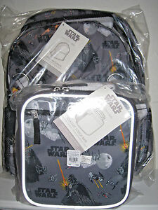 New Pottery Barn Kids Large Star Wars Darth Vader Backpack
