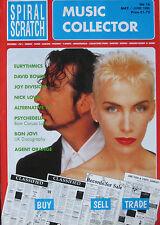 SPIRAL SCRATCH 16 1990 Eurythmics Joy Division David Bowie Nick Lowe Alternative