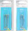 Milward 75mm Brass Kilt Pins in Gold or Silver 2 Pack FREE P/&P