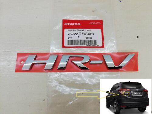LOGO HR-V HONDA Decal Emblem Badge HRV LIFE Crossover JDM GENUINE PARTS Rear