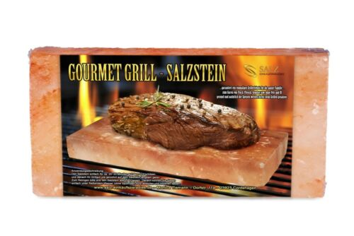 20 x 10 x 5 cm sel Gourmet Barbecue salzstein-Himalaya