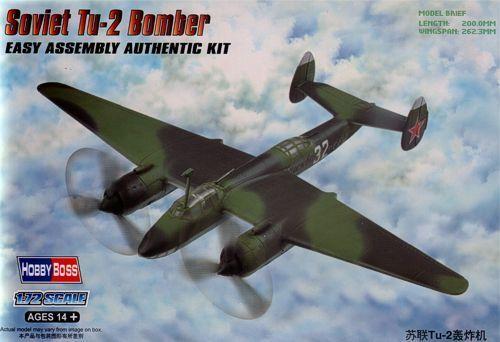 Hobby Boss 1//72 Tupolev Tu-2 Soviet Bomber # 80298