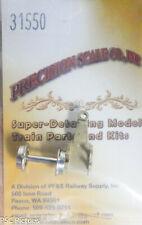 "Precision Scale HOn3 #31543 Truck w//20/"" Wheels Lead Kit form HOn3 Kit"