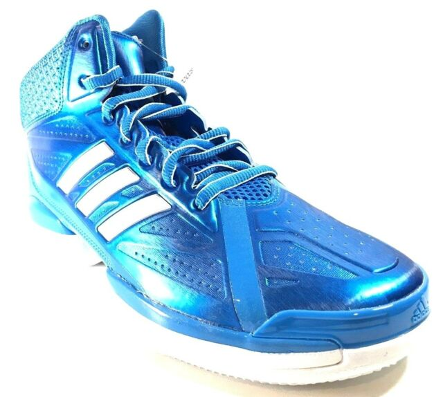 timeless design 4ecaf d9f3d Adidas men crazy sting basketball shoes size solar blue white jpg 640x574 Solar  blue shoes