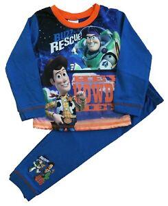 c7d2d1d93a Toy Story Boys Pyjamas Disney Buzz   Woody Pjs Sleepwear Sizes 1.5 ...