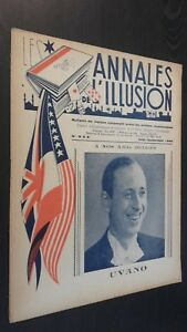 Rivista I Annali Di L Illusione per Lettera N° 8-9 ABE 1945