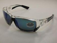 49802825208 COSTA DEL MAR SUNGLASSES TUNA ALLEY CRYSTAL BLUE GLASS MIRROR TA39 OBMGLP  580G