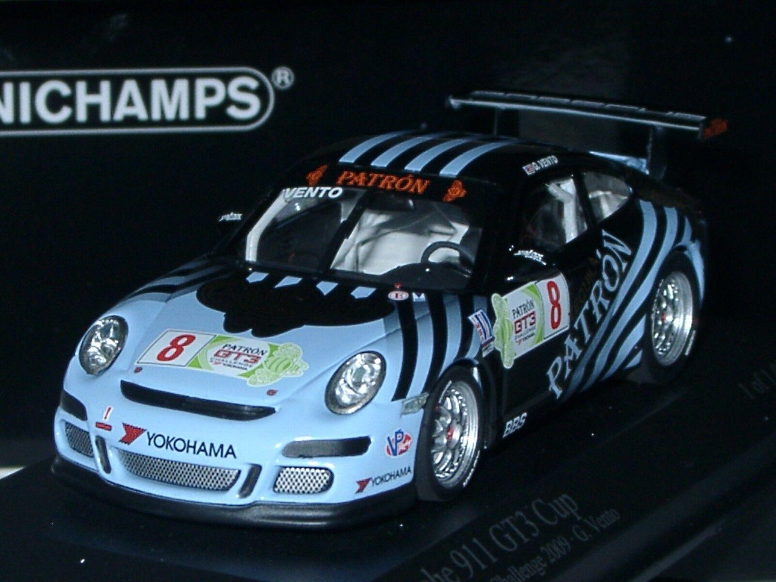 Minichamps Porsche 911 GT3 Cup, PATRON, IMSA GT3 Challenge PATRON - 1 43